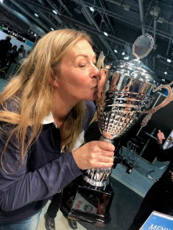 Anne-Lise Elizabeth Sørensen, som driver Patricias Gatekjøkken, vant NM for andre gang, (Foto: Samkjøpsgruppen)
