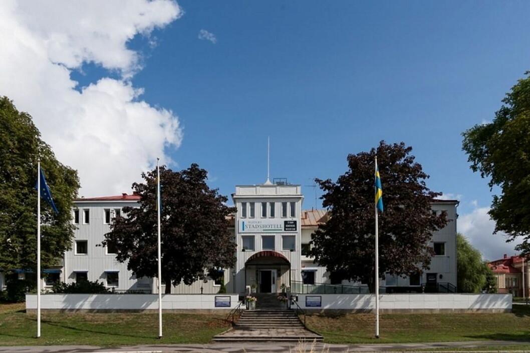 Mjölby Stadshotell. (Foto: Hotellet)