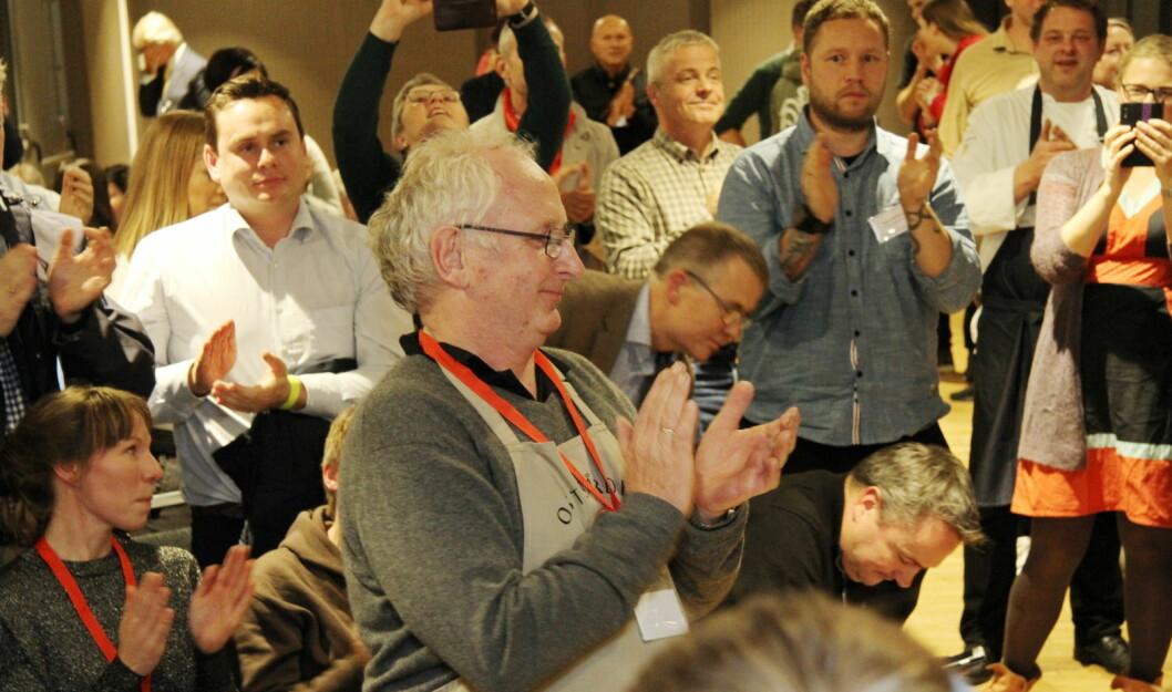 Verdensmester Jørn Hafslund (bildet) er verdt å klappe for. Men det er også verdt å klappe for hele 74 norske oster, som fikk medalje i World Cheese Awards 2018. (Foto: Morten Holt)