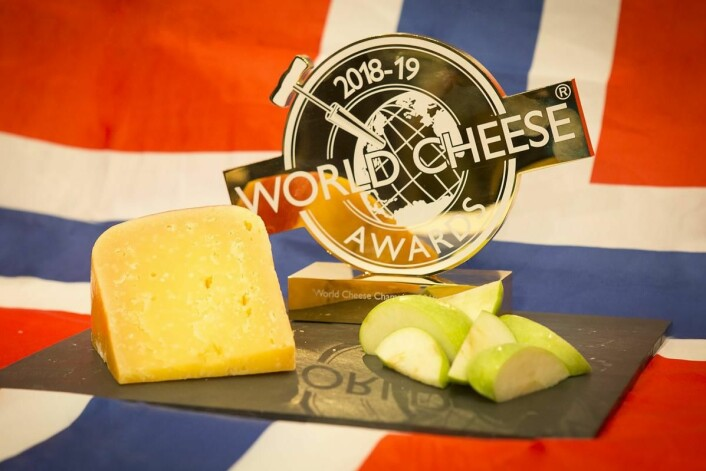Verdens beste ost i 2018: Fanaost. (Foto: Arrangøren)