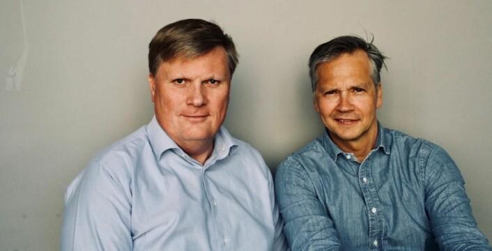 Øyvind Andersen og Nikolay Jernberg står bak Poder. (Foto: Poder)