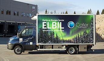 Cater Storkjøkken med el-lastebil med frys og kjøl