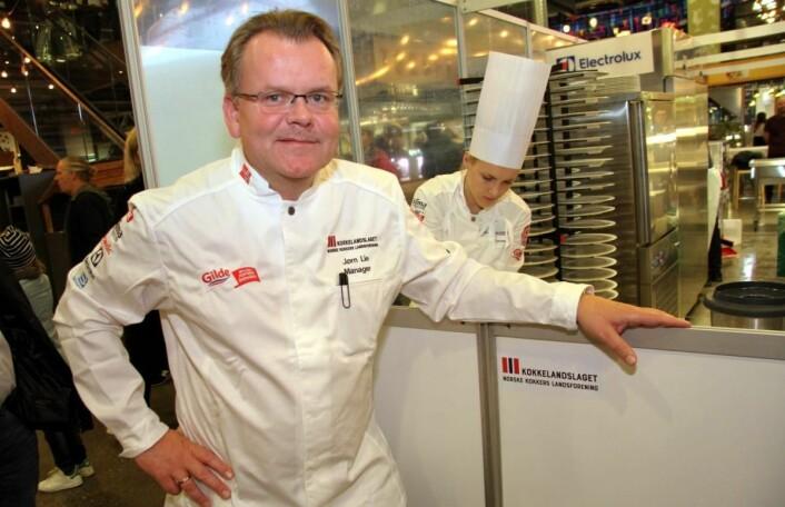 Jørn Lie er manager for to av de tre norske kokkelandslagene. (Foto: Morten Holt)