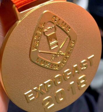 To gull til Norge på første konkurransedag i VM for landslag. (Foto: NKL)