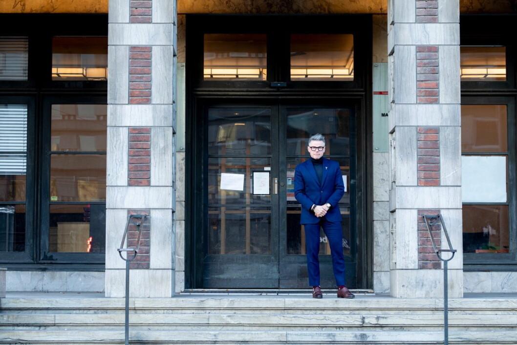 Jarle Moen skal lede det nye hotellprosjektet «Sommerro» i gamle Oslo Lysverker-bygget på Solli Plass. (Foto: Chris Aadland)