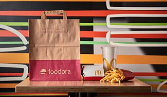 Nå kan du få McDonald's-maten hjem