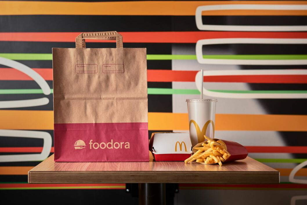 Nå kan du få levert McDonald's-mat der du er. (Foto: McDonald's)