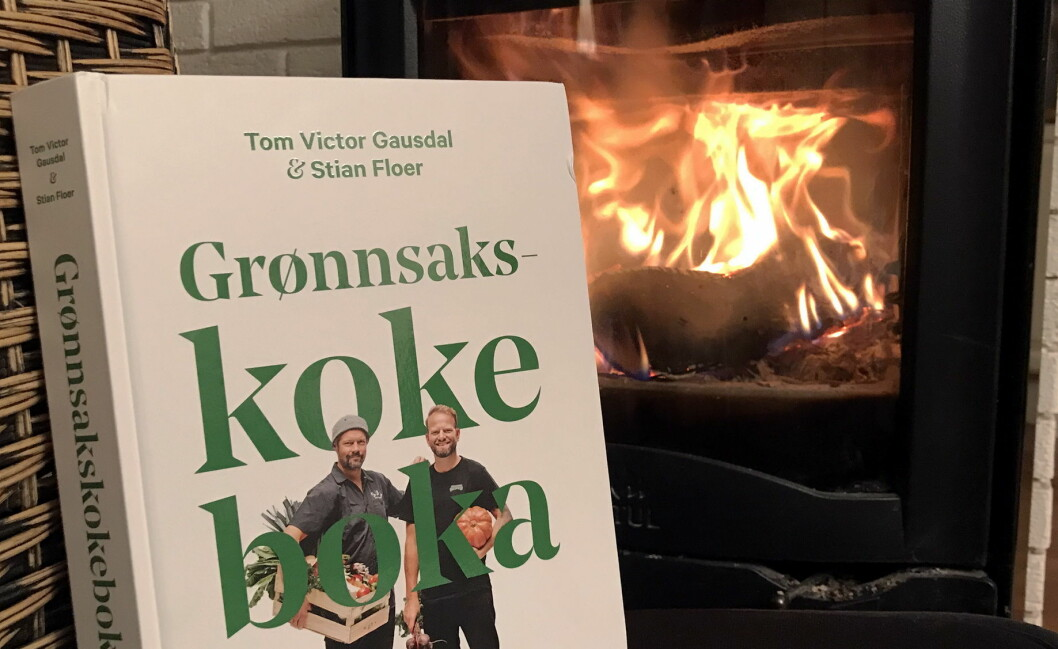 Grønnsakskokeboka er kåret til «Årets kokebok» i 2018. (Foto: Morten Holt)