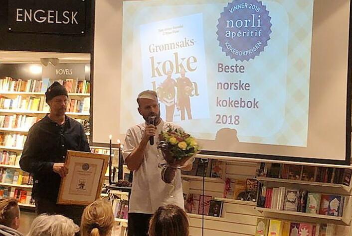 Årets kokebok i 2018. (Foto: Frode Kristensen, Salgslaget)
