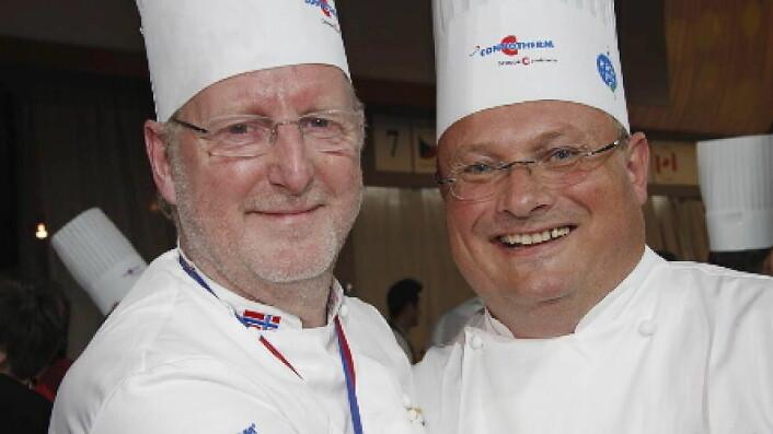 Eyvind Hellstrøm og Bent Stiansen. (Foto: Morten Holt)
