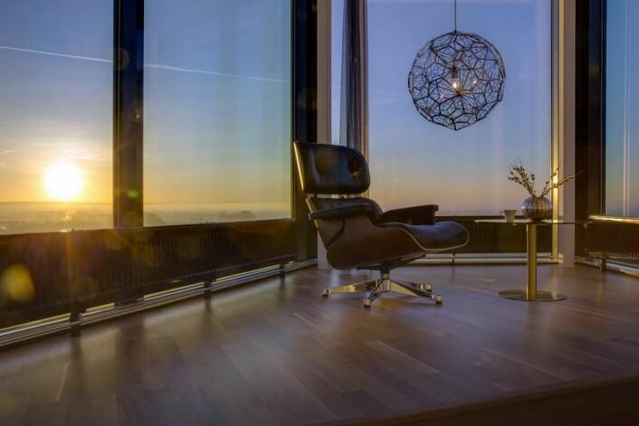 Utsikt fra en av suitene på Radisson Blu Hotel Lund. (Foto: Radisson Hotel Group)