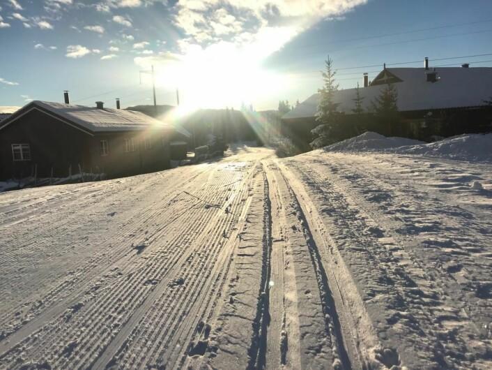 Det er nå 15 kilometer for klassisk langrenn og 40 kilometer med for skøyting på Skeikampen.(Foto: Thon Hotel Skeikampen)