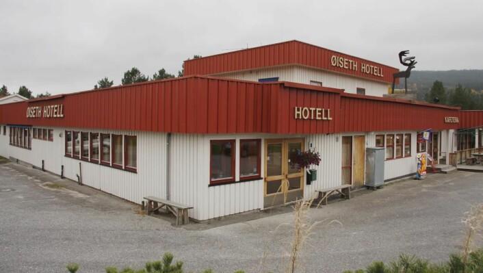 Snart fåt hotellet på Åkrestrømmen dette navnet igjen. (Foto: Morten Holt)