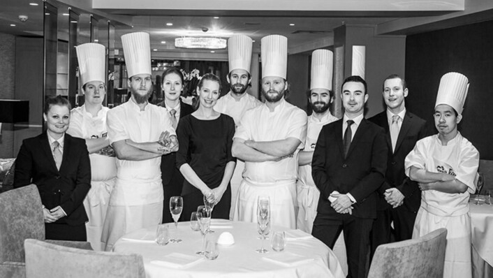 Internasjonal anerkjennelse til staben påRestaurant À L'aise i Oslo. (Foto: Restauranten)