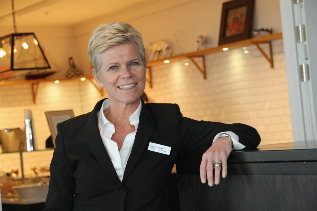 Hotelldirektør på Støtvig Hotel, Laila Aarstrand, er blant de nominerte til «Årets hotelier» i 2018. (Foto: Morten Holt)