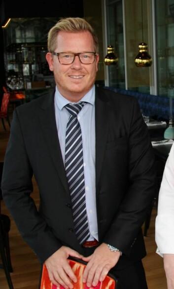 Hotelldirektør på Thon Hotel Lofoten, Erik Taraldsen, er nominert. (Foto: Morten Holt)