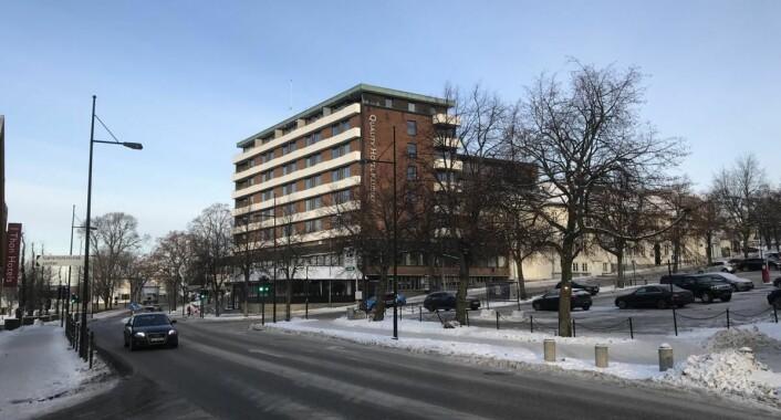 Hotel Klubben i Tønsberg. (Foto: Morten Holt)