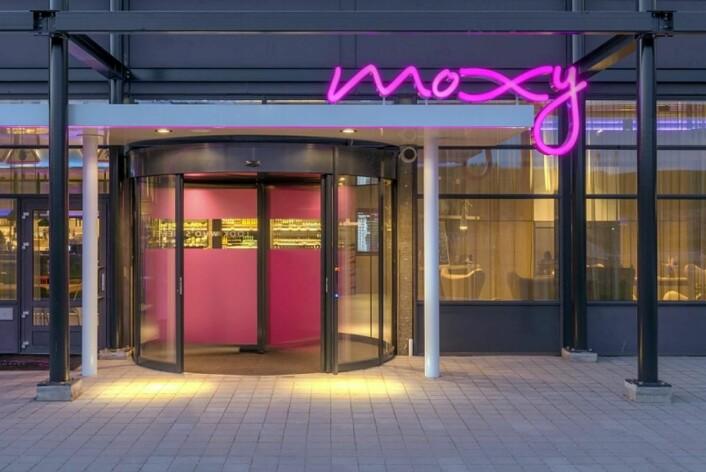 Moxy Oslo X på Hellerudsletta. (Foto: Belvar)