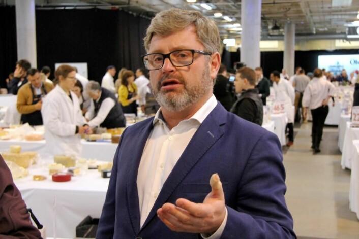 Daglig leder for Hanen, Bernt Bucher-Johannessen. (Foto: Morten Holt)