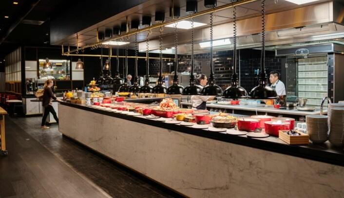 Både frokost og kveldsmat betyr mye for forretningsreisende. (Foto: Thon Hotels)