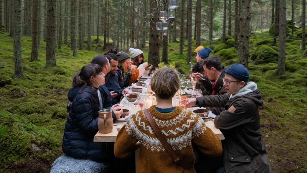 Bordet i Småland testes. (Foto: August Dellert)