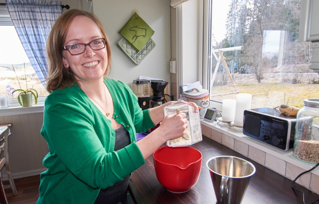 Kathrine Skjelvan har utviklet Norges største allergimatblogg Glutenogmelkefri.com. Nå tilbyr hun kurs for reiselivsbedrifter. (Foto: Privat)