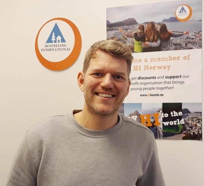 Tobias Johansen. (Foto: HI Norge)