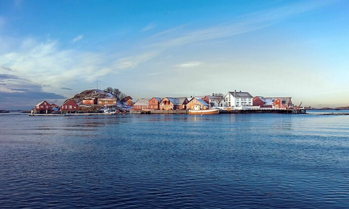 Håholmen Havstuer. (Foto: Classic Norway/Håholmen)