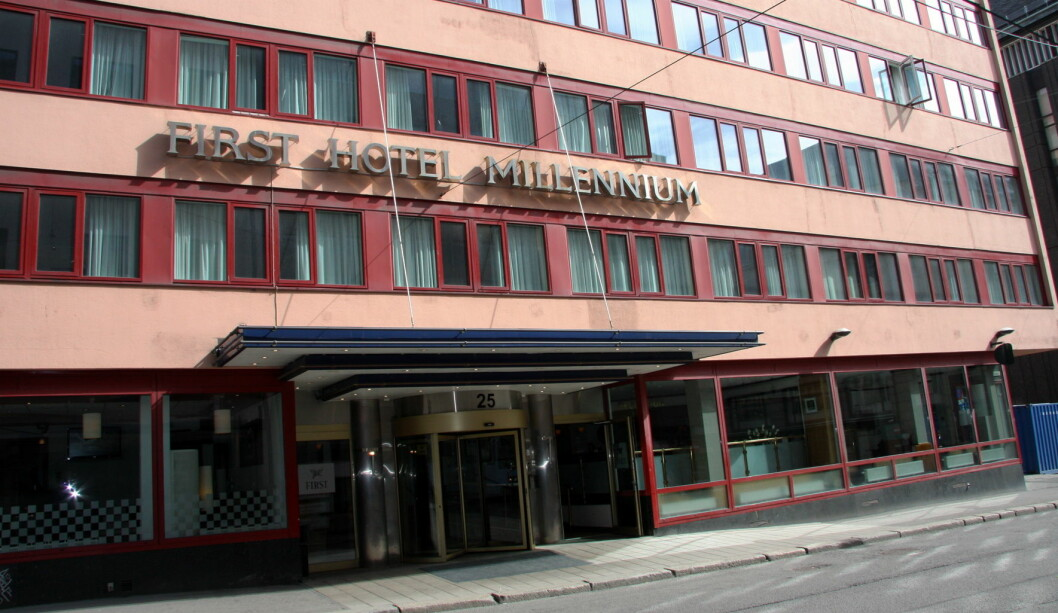 First Hotel Milennium i Oslo er rangert blant de 100 beste forretningshotellene i verden av Egencia. (Foto: Morten Holt)
