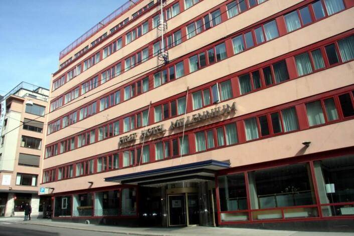 First Hotel Milennium i Oslo. (Foto: Morten Holt)