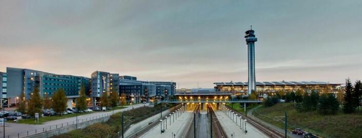 Også Radisson Blu Airport Hotel på Gardermoen er å finne på topp-100-listen. (Foto: Radisson Hotel Group)