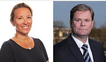 To nye konserndirektører i Hurtigruten