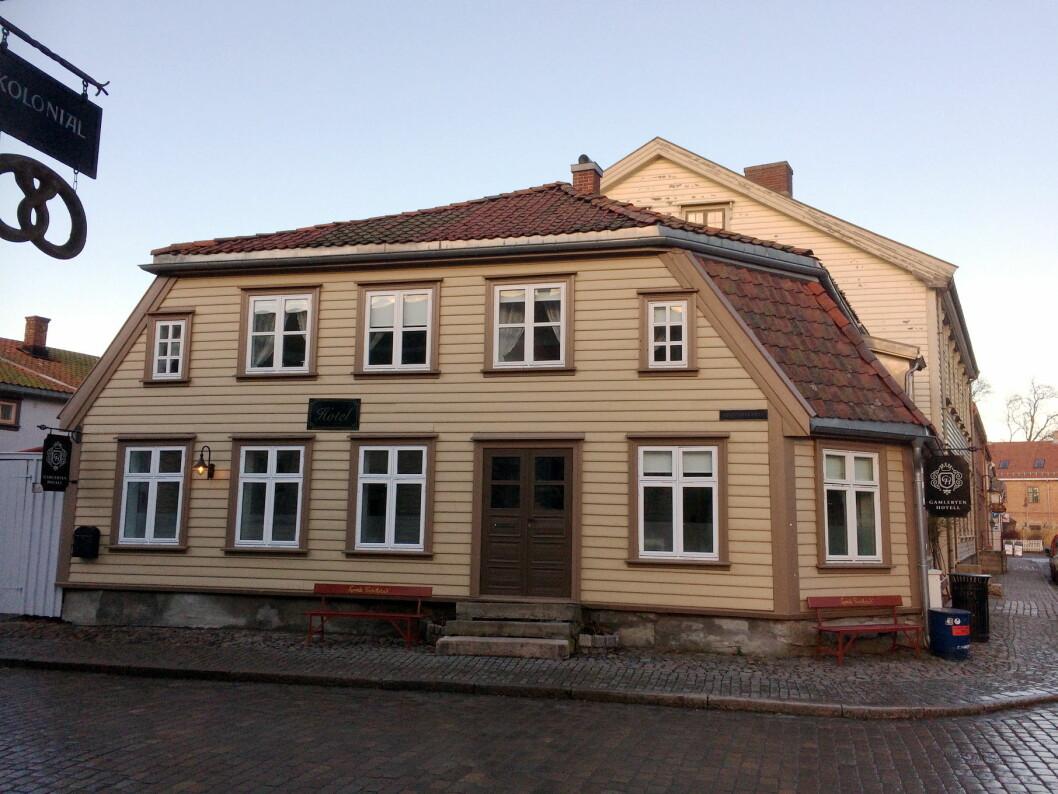 Gamlebyen Hotell i Fredrikstad er ett av de nye medlemmene i De Historiske Hotel og Spisesteder. (Foto: Morten Holt)