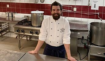 Styrer kjøkkenet på Kleivstua
