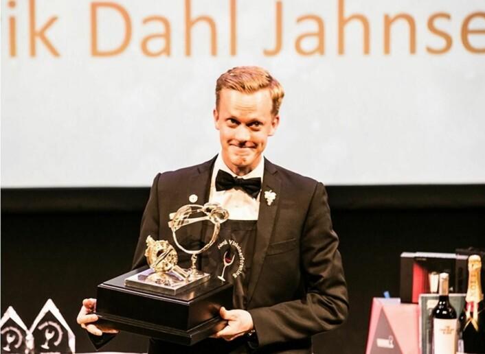 Henrik Dahl Jahnsen. (Foto: Norsk Vinkelnerforening)