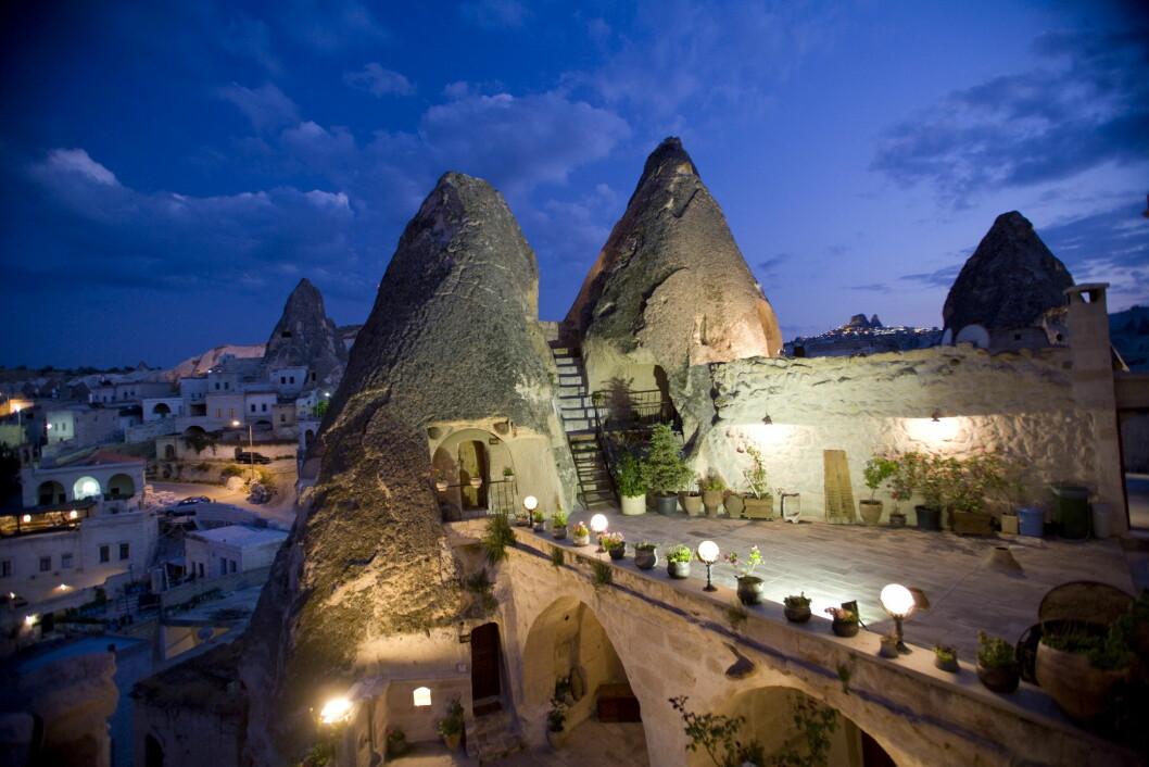 Kelebek Special Cave Hotel i Tyrkia. (Foto: Hotels.com)