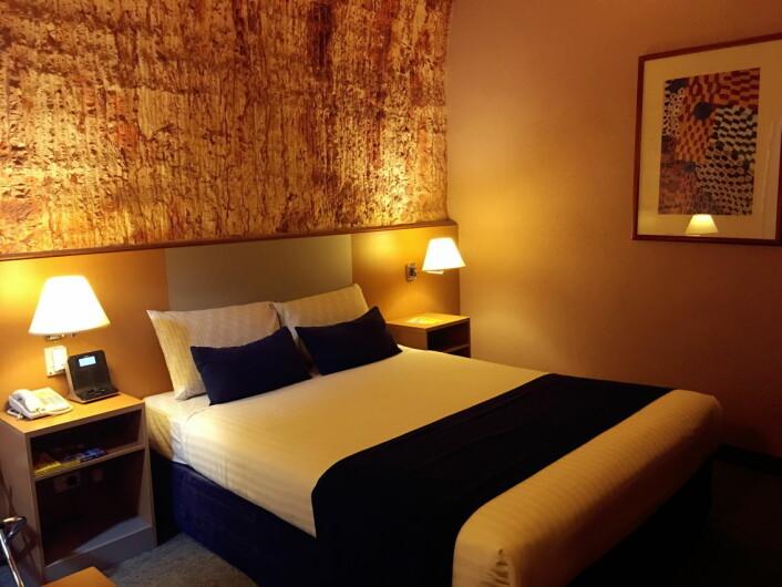 Fra Desert Cave Hotel i Australia. (Foto: Hotels.com)