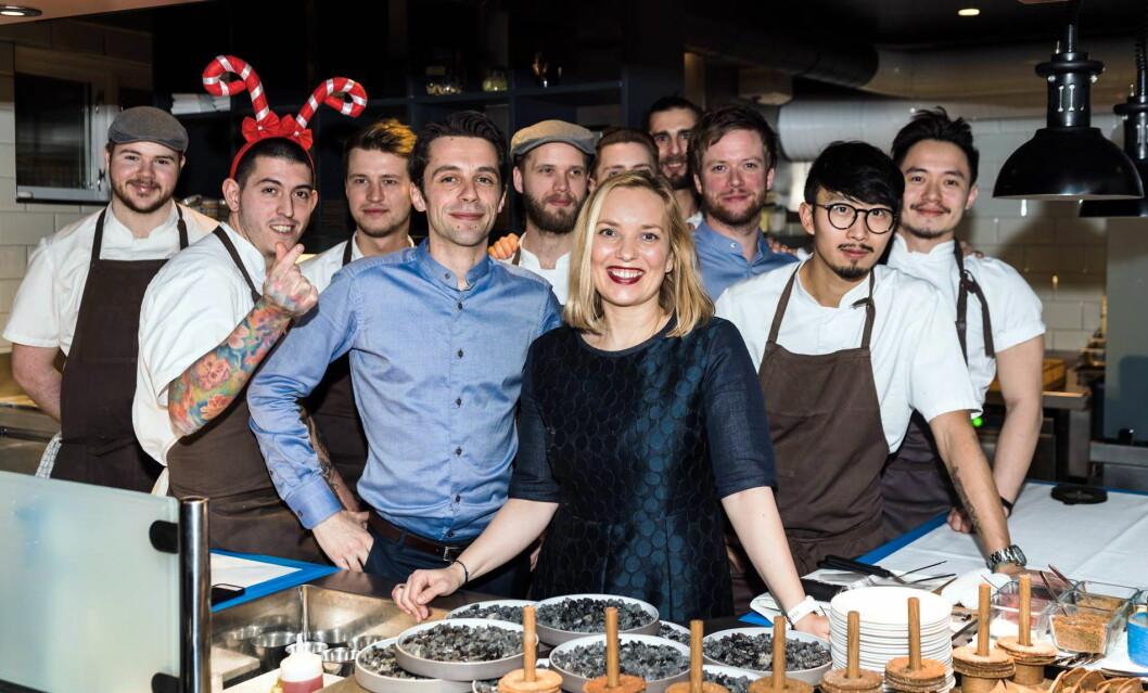 Toril Renaa hos Renaa i Stavanger har fått Rogaland fylkeskommunes hederspris for arbeidet med rekrutteringen til matfagene. (Foto Renaa Restauranter)