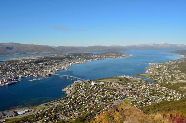 Betsson tror verken Tromsø (bildet) eller Bergen blir tilgodesett med Michelin-stjerne denne gangen heller. (Foto: Colourbox.com)