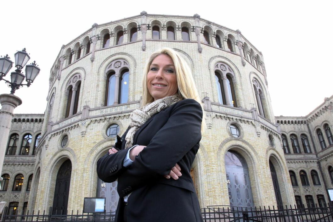 Sikkerhetssjef Berit Mauseth Michelet på Stortinget er ansatt i Coca-Cola European Partners i Norge, Sverige og Island. (Foto Even Rise, Aktuell Sikkerhet)