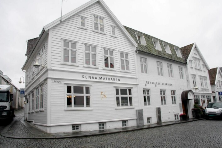 Renaa ble den første restauranten utenfor Oslo i Norge som fikk stjerne i Guide Michelin. (Foto: Morten Holt)