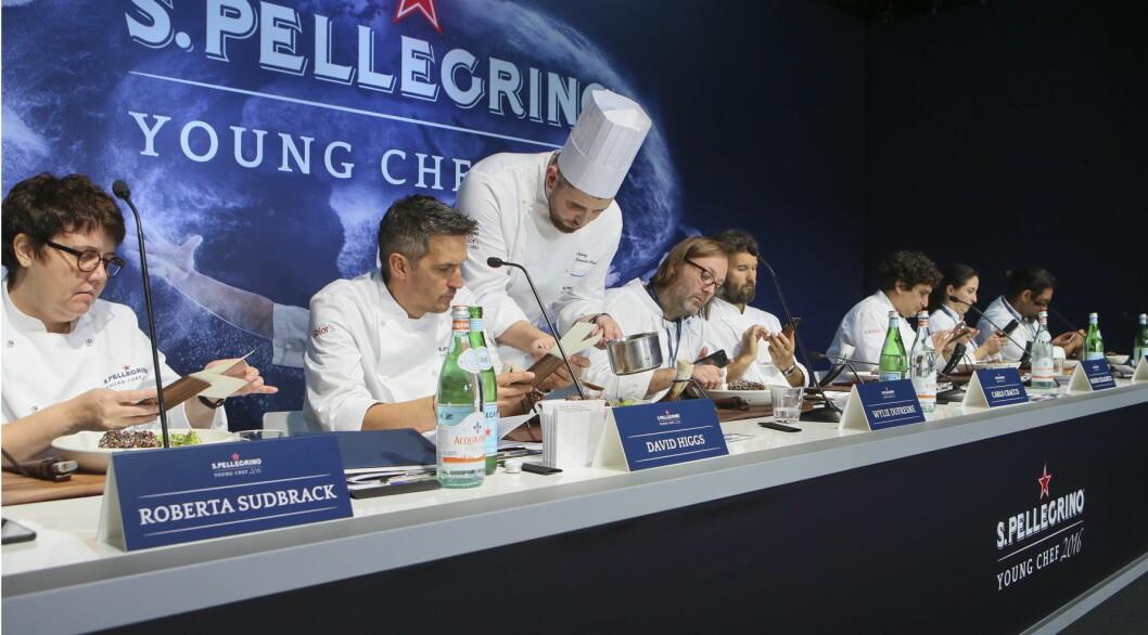 Fra en tidligere finale av S.Pellegrino Young Chef. (Foto:  S.Pellegrino Young Chef)
