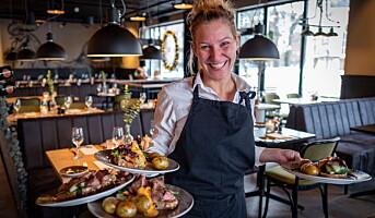 Titusener spiste ute i Kristiansand