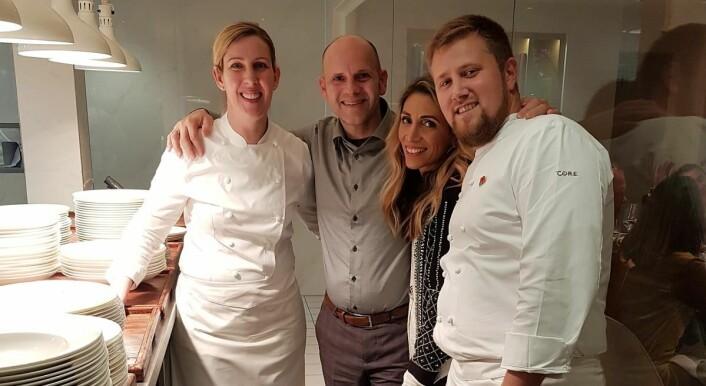 Bo Jensen (nummer to fra venstren) satser internasjonalt. (Foto: Privat)