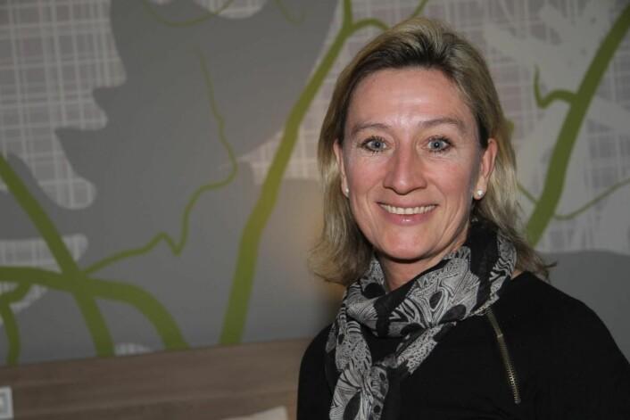 Hotelldirektør Nina Bogerud Caspari. (Foto: Morten Holt)
