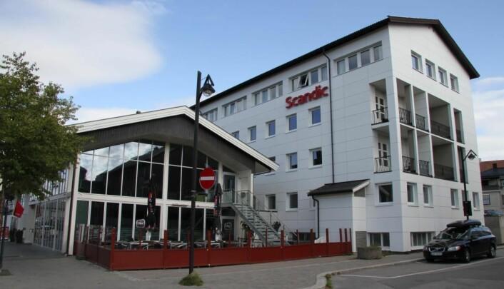 Scandic Central Elverum. (Foto: Morten Holt)