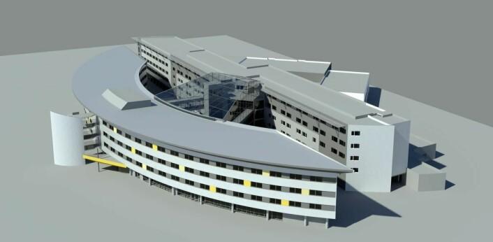 Qualiity Airport Hotel Gardermoen er nyrenovert. (Illustrasjon: Quality Hotel)