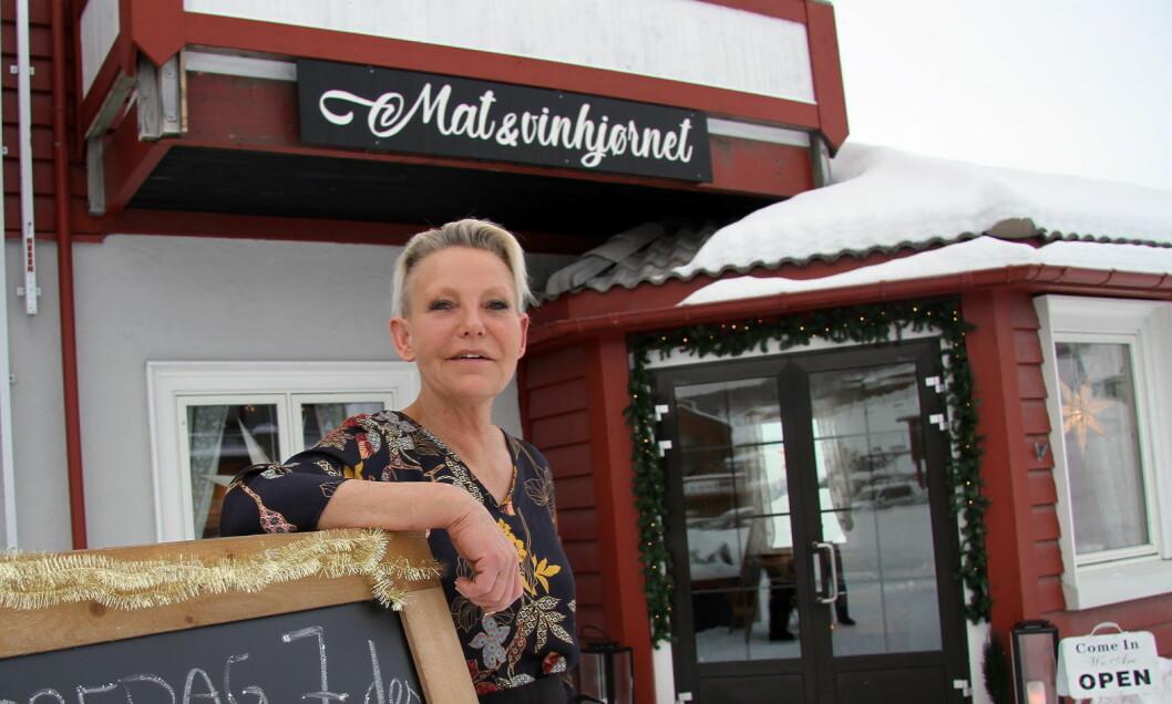 Ellinor Engeli åpnet restaurant på Beitostølen i desember 2018. (Foto: Morten Holt)