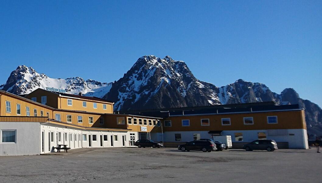 Vestfjord Hotell har nå gjenåpnet som Scandic Vestfjord Lofoten. (Foto: Scandic Hotels)
