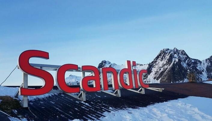 Scandic har bå 209 rom i Svolvær. (Foto: Scandic Hotels)